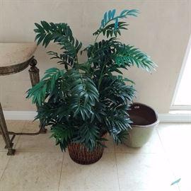 Artificial Potted Plants & Pots