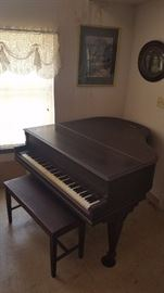 1912 Ivers & Pond Princess Grand Piano