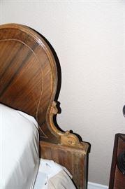 Antique Headboard Corner detail