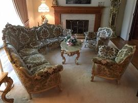 Italian Furniture Set, well hoarded and excellent condition
