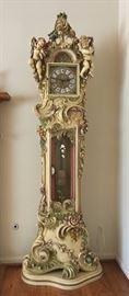 Beautiful Floor Clock. matching with the Italian Furniture set