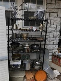 Just a fraction of the cookware!