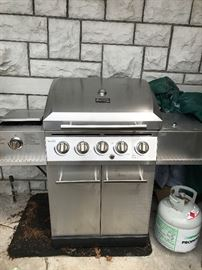 New gas grill...