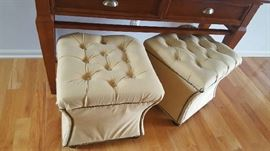 Tufted stool  $50  each