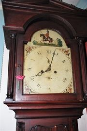 Grandfather Clock by W. Nicholas London C. 1820