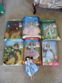 Wizard of OZ Barbies