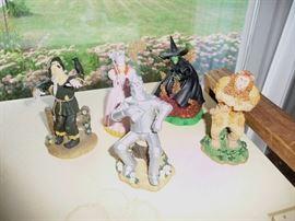 Wizard of OZ figures
