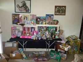Wizard of OZ Barbies and other Barbies in the box