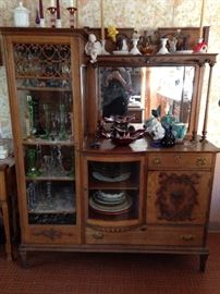 Victorian cabinet and buffet