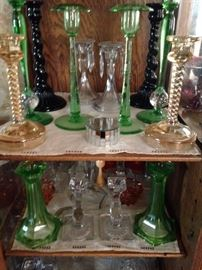 lots of candlesticks!