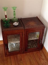 antique display cabinets