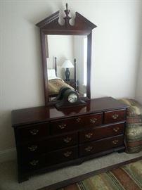 "Dresser with Mirror - 64"" w"