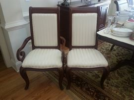 Dining Arm Chair and Side Chair