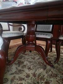 Dining Set - Pedestal Table