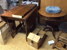 Some of several pieces of vintage furniture