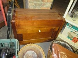 Antique sewing chest