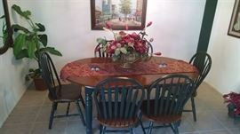 kitchen table with 6 chairs very nice 150