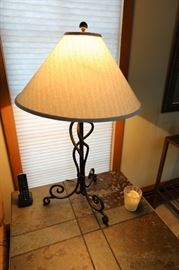 "Table Lamp, 33""h"