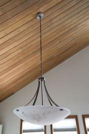 """Ceiling Light, 28"""" in Diameter"""