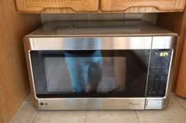 LG Microwave, Stainless Steel