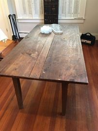 Old farm table (1 of 2)