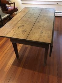 Old drop-leaf farm table (2 of 2)