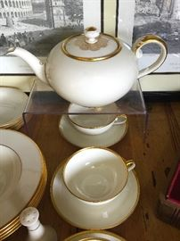•  Rosenthal Tea Set.