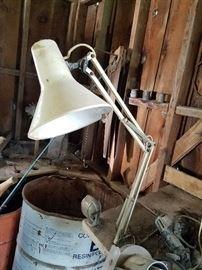 bench lamp
