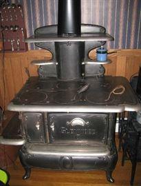 Glenwood wood cook stove