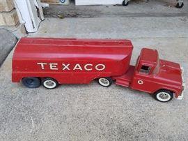 Vintage Buddy L Texaco Oil Tanker Truck Toy
