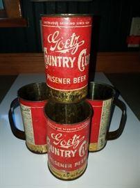 House is FULL OF TREASURES!! Goetz tin mugs