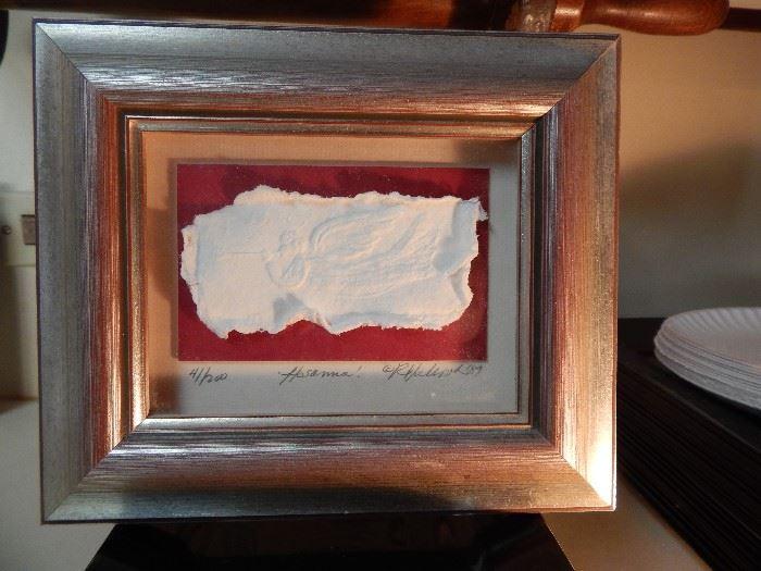 Hosanna!, Embossed Handmade Paper