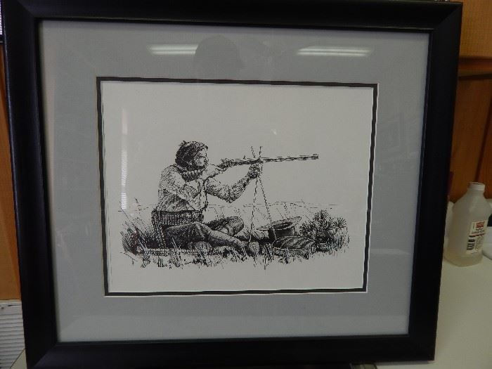 Artist: Fred Fellows, Title Unknown, Pen and Ink