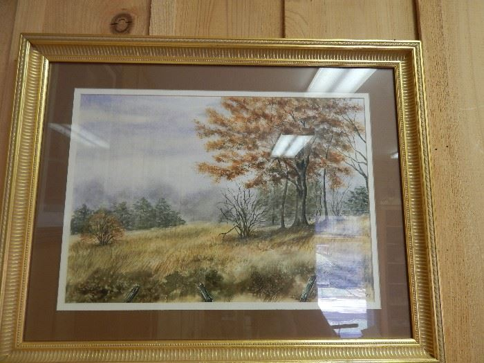 Artist: Glenda Lundy, Title Unknown, Water Color
