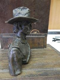 """Artist: Joe Grandee, """"The Trooper"""" Bronze Sculpture"""