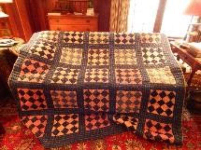1930's Fan Pattern Quilt