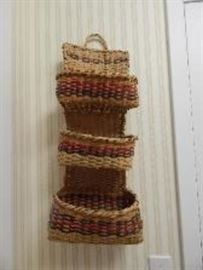 Choctaw Letter Holder Basket