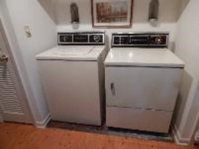 G E Washer and Dryer