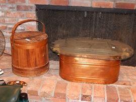copper boiler / washtub
