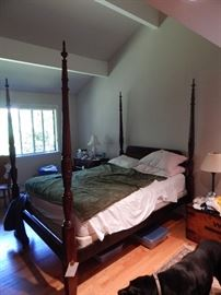 4 Poster bed Rice bed