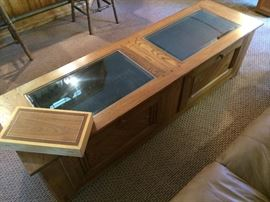 Display and Storage Coffee Table