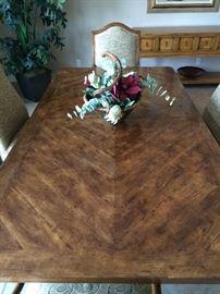 Emanuel Morez Palladio Dining Table, Detail View
