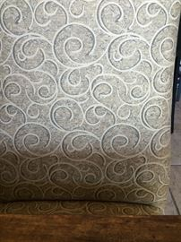 Emanuel Morez Galina Chairs, Detail of Upholstery