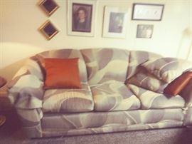 Arch-Back Sofa