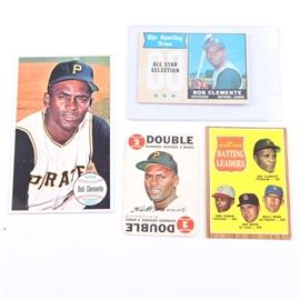 Collection of Roberto Clemente Cards