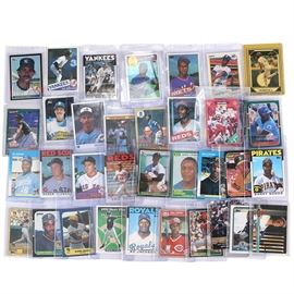 Collection of 1980's Baseball Cards