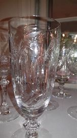 Vintage Tiffin Crystal Stemware