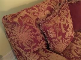 Just a peek at the fabulous sofa that is so comfy and beaaauuutiful too!