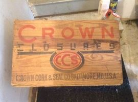 Crown Cork and Seal Crate