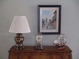 Decor items, watercolor pic